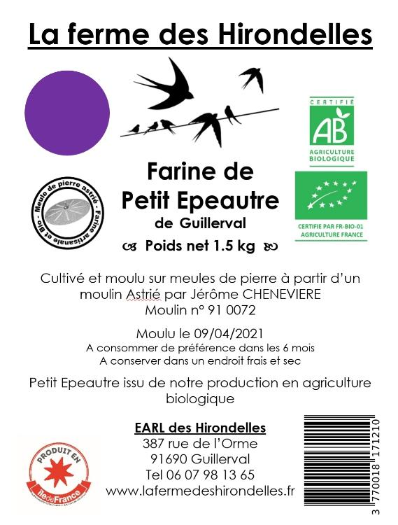 Farine de Petit Épeautre