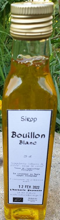 Sirop Bouillon Blanc