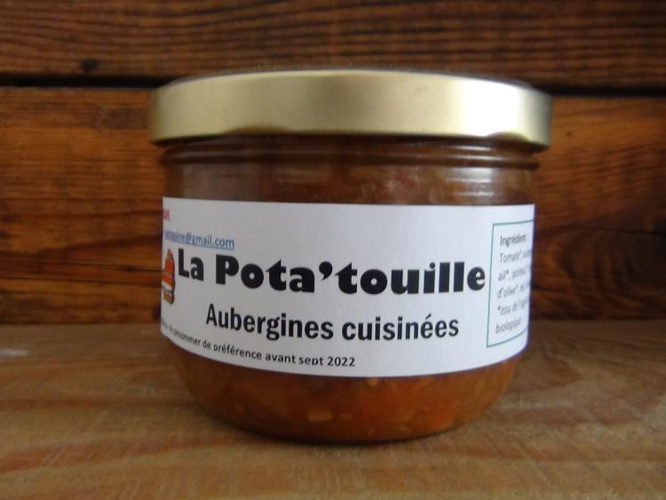 La POTA'TOUILLE (Aubergines cuisinées)