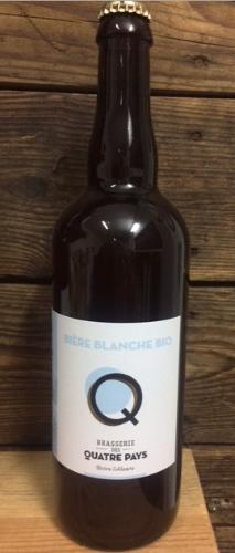 Bière La Quatre Pays Blanche 4.5%    75cl