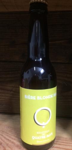 Bière La Quatre Pays Blonde 5%    33cl