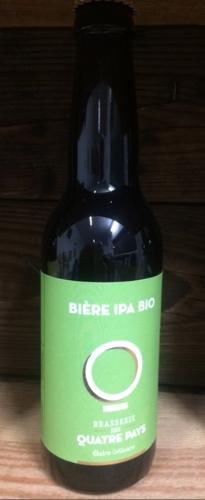 Bière La Quatre Pays India Pale Ale (IPA) 6%    33cl