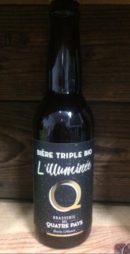 Bière L'Illuminée, triple 8%   33cl