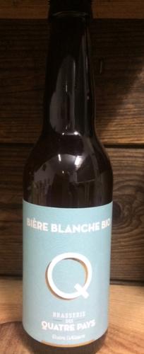 Bière La Quatre Pays Blanche 4.5%    33cl