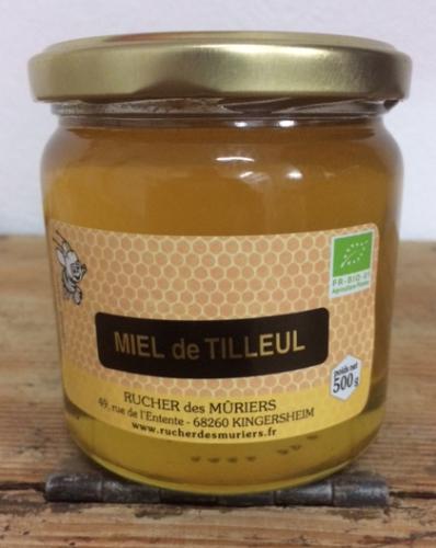 Miel de Tilleul pot de 500g