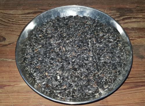 Graines de tournesol en vrac pour oiseaux (pensez à votre contenant)