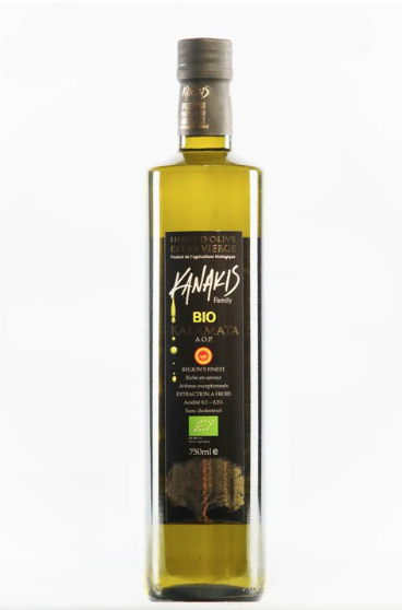 Huile d'olive Bio KANAKIS 750ml