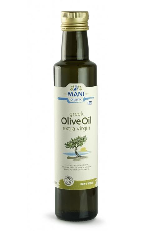 Huile d'olive Bio fruitée Mani 250ml