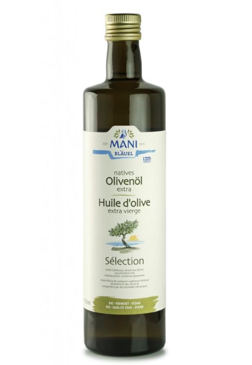 Huile d'olive Bio fruitée Mani 750ml