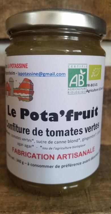 Le POTAFRUITS (Confiture de tomates vertes)
