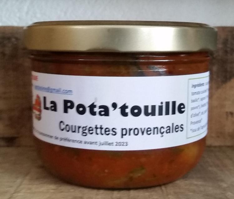 La POTA'TOUILLE (Courgettes provençales 450g)