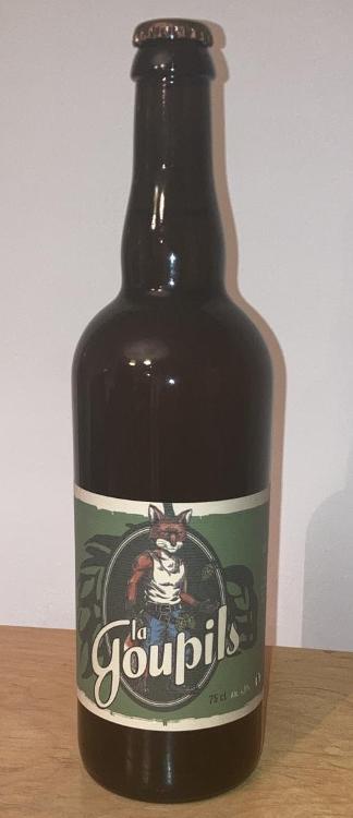 Bière Blonde Goupils 33cl (Bicéphale)
