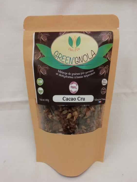 Green'Gnola Cacao Cru