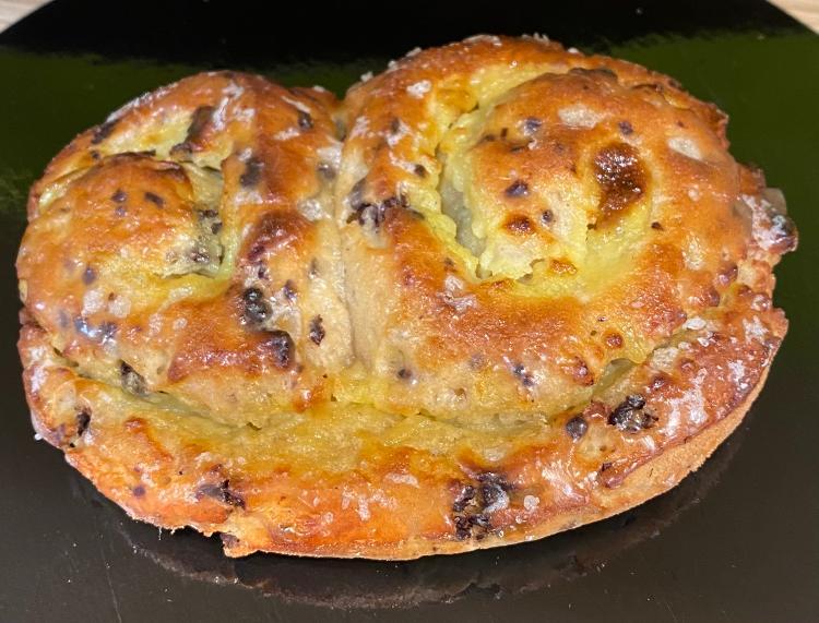 Petit pain brioché chocolat (sans gluten)
