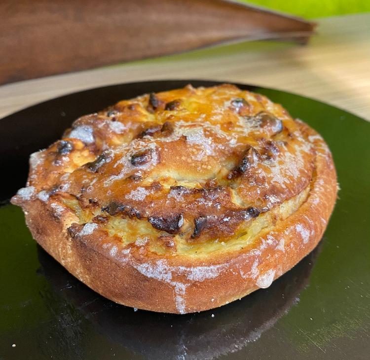 Petit pain brioché raisins (sans gluten)