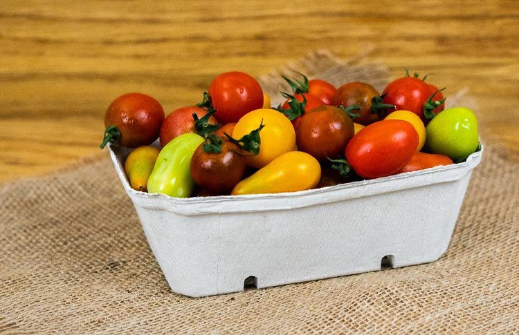 Tomates cerises multicolores ( BIOLAND Kirschtomaten bunt)