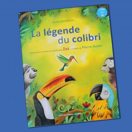 """Livre CD """"La légende du Colibri"""""""
