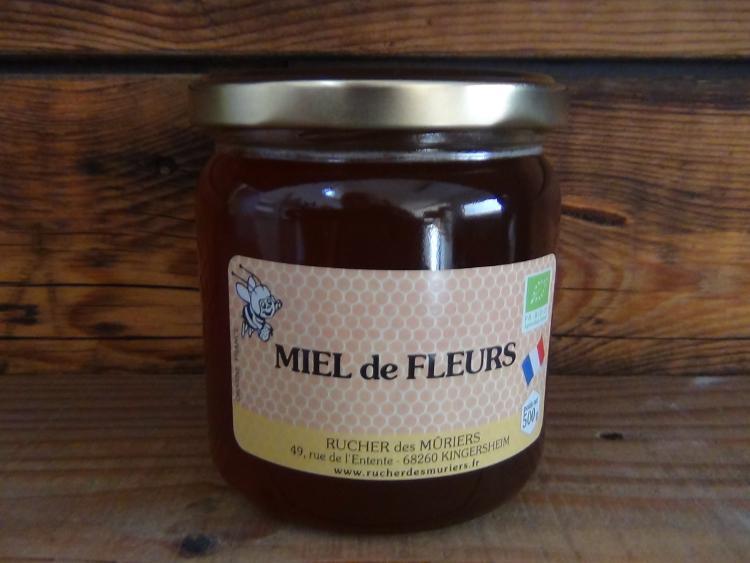 Miel de Fleurs pot de 500 g