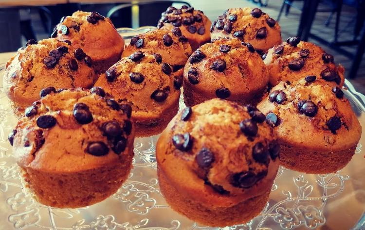 Muffin choco bananes