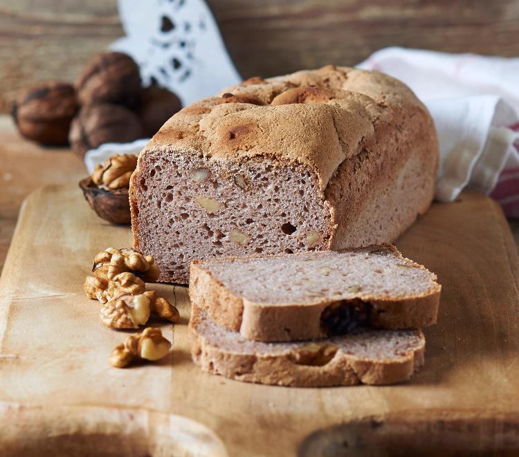 Pain aux noix (sans gluten)
