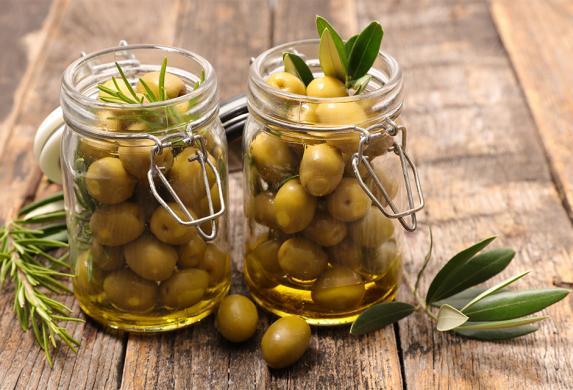 Olives Vertes Mani Bio Citron & Herbes en vrac (pensez à votre contenant)
