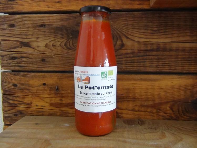 LE POT'OMATES (sauce tomate cuisinée)
