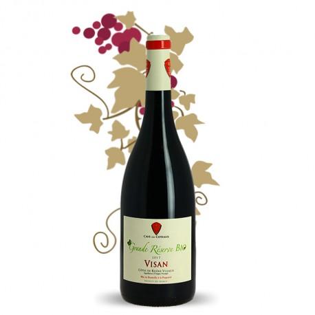 Vin Rouge Côtes du Rhône Visan Grande Réserve