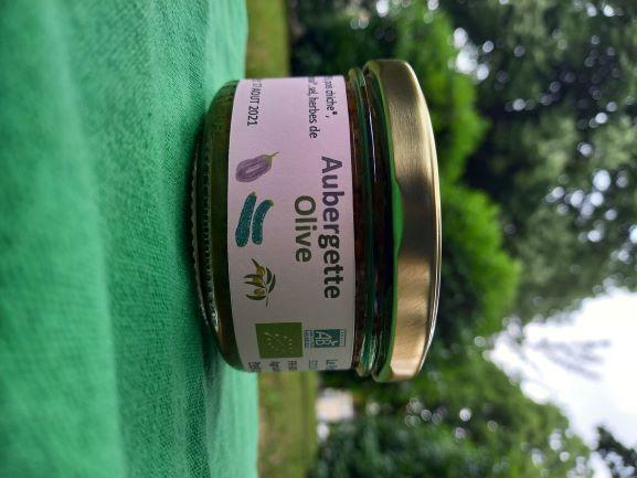 Tartinade Aubergette Olive