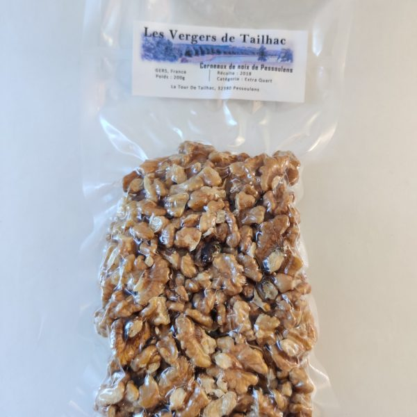 Cerneaux de noix extras moitiés