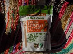 Sucre complet de canne en poudre (RAPADURA)