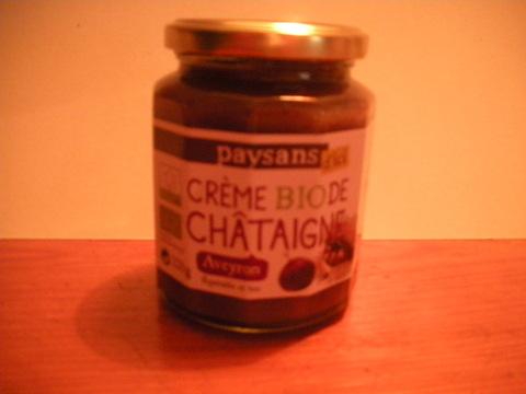 Crème de chataigne de l'Aveyron