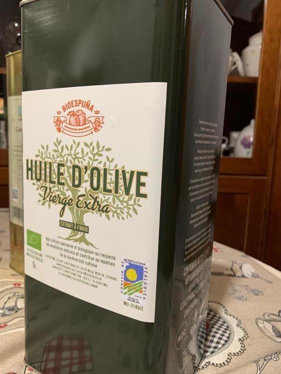 Huile d'olive biologique bioespuna  5L (nouveau)
