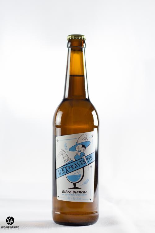 L'Extravertie, Bière blanche Alc.4,5%vol