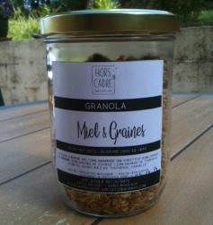 Granola miel et graines