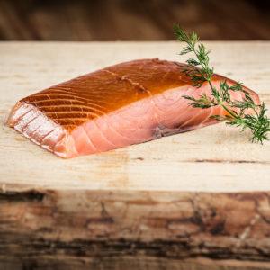Saumon Fumé à froid (Pavé 2 portions, 140 gr)