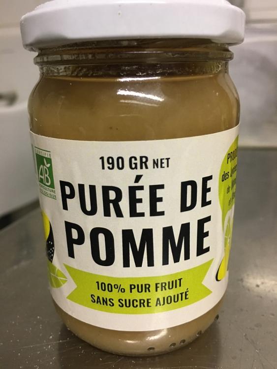 Purée de pommes bio de Pesquié Capou