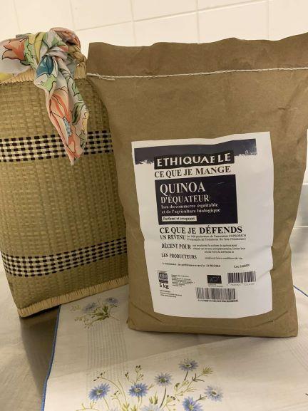Quinoa bio Equateur( nouveau en bio)