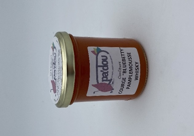 """Confiture """"Bluebetty"""" Pamplemousse Whisky"""