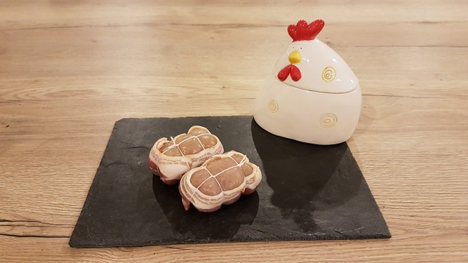 Paupiettes de poulet ( 2x 130 g)