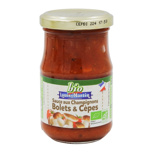 Sauce tomate aux champignons 190g