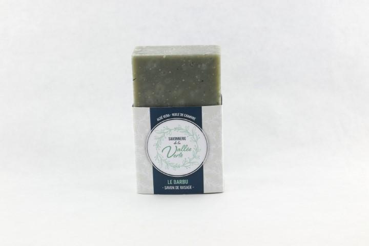Savon LE BARBU //aloé vera et huile chanvre