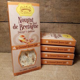 Nougat Caramel Beurre Salé au Miel de Bretagne