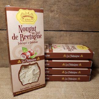 Nougat Nature BIO au Miel de Bretagne