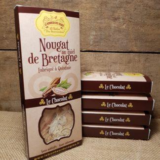 Nougat Chocolat au Miel de Bretagne