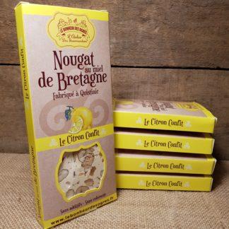 Nougat Citron au Miel de Bretagne