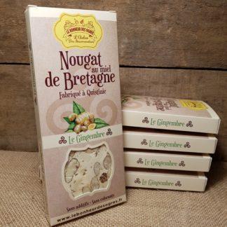 Nougat gingembre au Miel de Bretagne