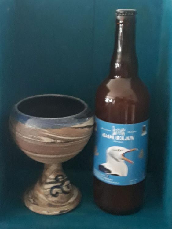 Gouelan bière blanche 75cl