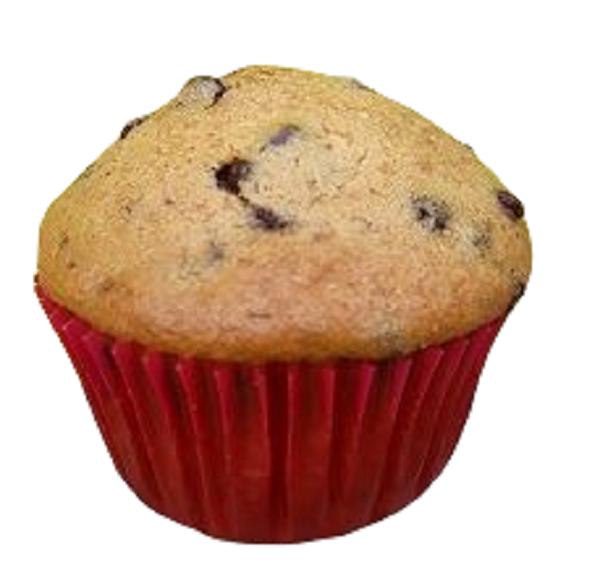 Muffins aux éclats de chocolat (par 4)