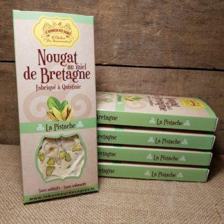 Nougat Pistache au Miel de Bretagne
