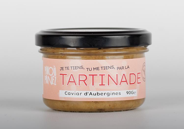 Tartinade Caviar d'Aubergines